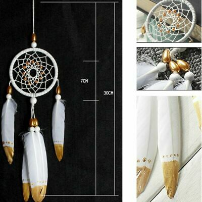 Handmade Dream Catcher with Feathers Car Or Wall Hanging Decoration Ornament USA