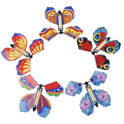 Magic Butterfly Change From Empty Hands Flying In The Book Tricks Prop Toy Game