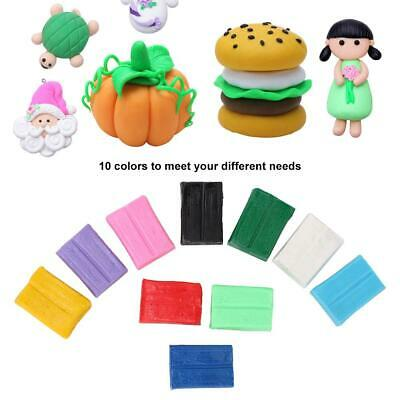 8//12//14colors DIY Plasticine Clay Air Drying Toys Soft Polymer Modelling Tools