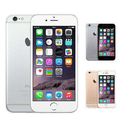 Apple iPhone 6 - 16GB/64GB/128GB Space Gery Silver Gold - IOS Factory Unlocked