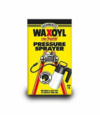 Hammerite 6141711 Waxoyl High Pressure Spray Sprayer Car Valeting 1 Litre