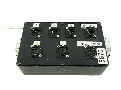 6 Pin Data/Xlr Multipin Stage Box #5870 (One)