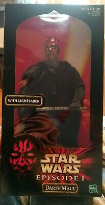 Star Wars Episode 1 Darth Maul Double Lightsaber New In Box Sealed Vintage 1998