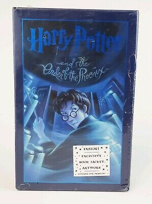 New Harry Potter and The Order of Phoenix Deluxe Edition Book w/ Sleeve
