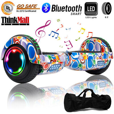 "6.5"" Bluetooth Hoverboard Self Balancing Electric Scooter Birthday Gift UL Bag"