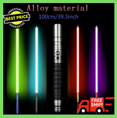 Lightsaber Jedi Sith Color Changing Light Saber Force Heavy Dueling Rechargeable
