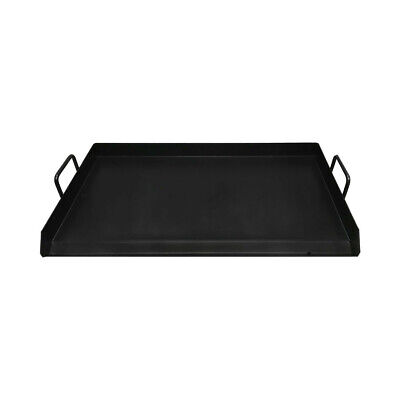 """32"""" Black Steel Non Stick Coating Flat Top Griddle Grill Plancha Cookware"""