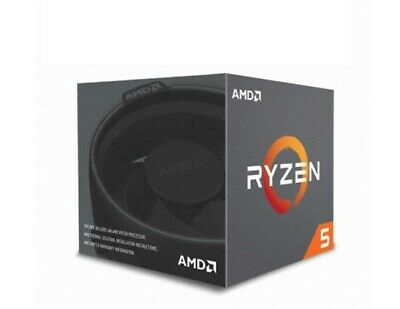 AMD RYZEN 5 2600 6-Core 3.4 GHz 3.9 GHz Max Boost Socket AM4 65W YD2600BBAFBOX