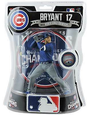 """4.5/"""" Player MLB EEKEEZ Figurine Anthony Rizzo Chicago Cubs"""
