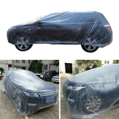 Disposable Car Cover with Elastic Band- Dust Cover- Rain Car Cover Chevy HOT