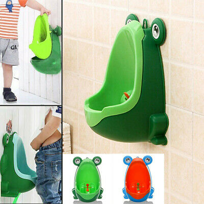Frog Potty Training Urinal for Toddler Boys Toilet with Funny Aiming Target