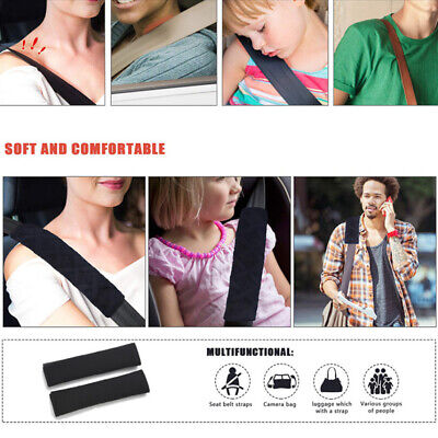 Pads Safety Seat Truck Strap Burliness Children Comfortable Durable Belt 2PCS