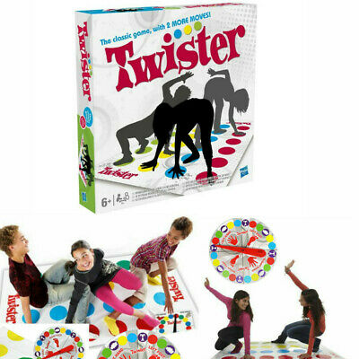 Twister The Classic Family Party Game With 2 More Moves Family Party Game