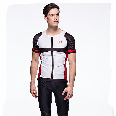 Men Long Sleeve Rogelli CoolDry Polyester Cycling Base Layer Tight Fit