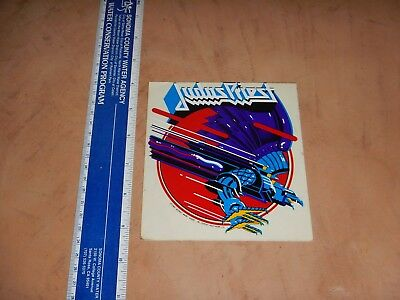 Vintage, Original 1982 Judas Priest  Decal / Sticker