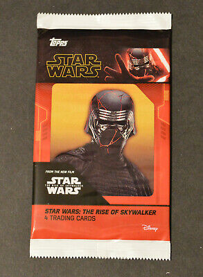 Topps STAR WARS THE RISE OF SKYWALKER MOVIE Cards > CINEWORLD Sealed PROMO PACK