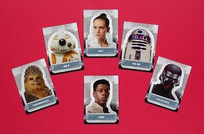 2019 Star Wars Rise of Skywalker Series One Character Stickers - You Pick Cards