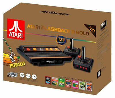 Atari Flashback 8 Gold Deluxe HD Console - AR3620X Paddles included