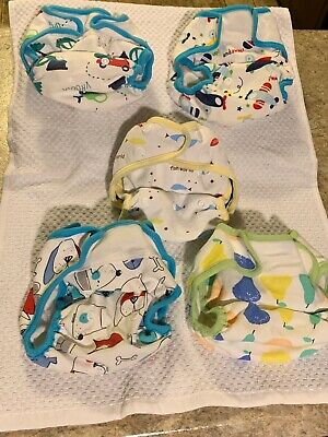 KaWaii Baby Cloth Diapers - Lot of 5