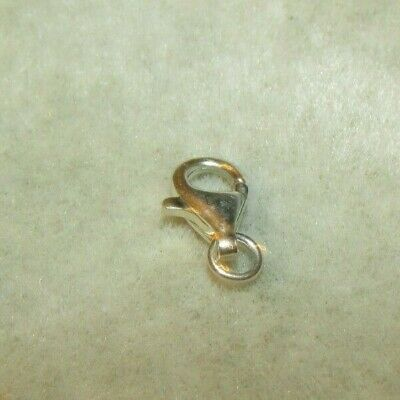 14k Solid Yellow Gold INFINITY Lobster Jumbo Large Lock CLASP 9 x 14mm