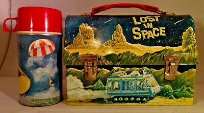 1967 Vintage King-Seeley  Lost In Space  Lunchbox & Thermos  Near Mint  Wow!