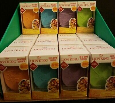 The Lion King Bath Bombs All Scents With Surprise! Lot of 4.