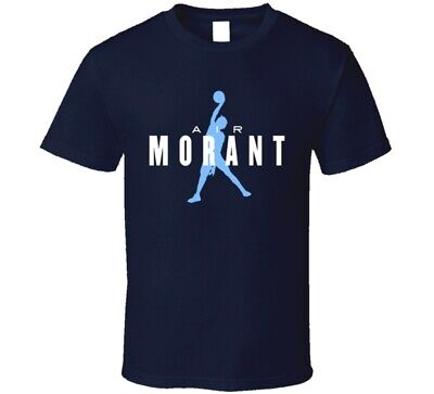 Air Ja Morant Memphis Basketball Jordan Parody Jump Slam Dunk Fan T Shirt