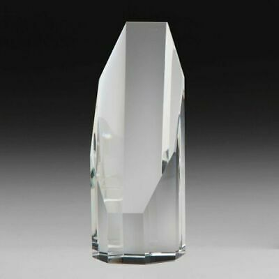 **May Sale**  CRYSTAL AWARD TROPHY  **glass only**