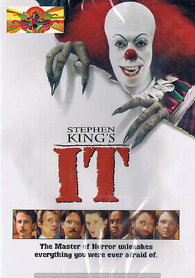 Thriller - Stephen King's IT (DVD, 2010) Horror Drama Mystery Tim Curry NEW
