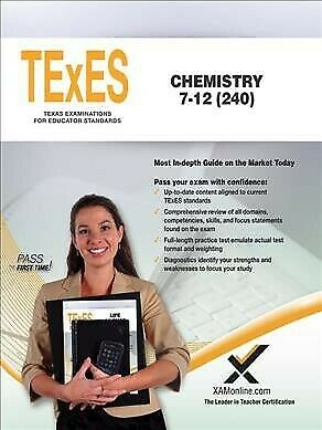 Texes Chemistry, 7-12, Paperback by Wynne, Sharon A., Brand New, Free shippin...