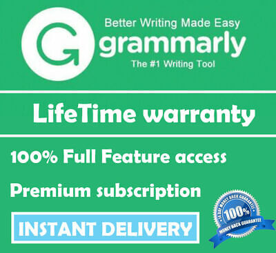 Grammarly Premium  » INSTANT DELIVERY !! Lifetime Account