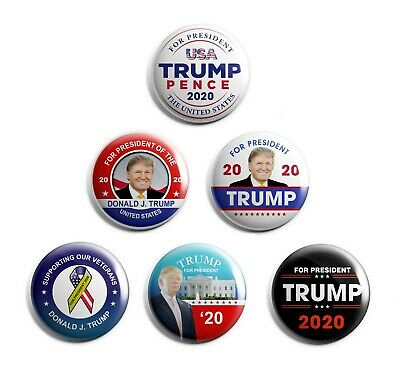 Donald Trump Campaign  Buttons (TRUMP-SE-AAA-ALL)