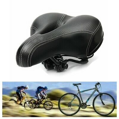 Universal Extra Wide Comfy Cushioned Bicycle Gel Saddle Bike Seat Soft Padded