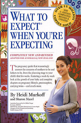 WHAT TO EXPECT WHEN YOU'RE EXPECTING - 4th Aus edition paperback - VGC+ QikPost