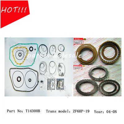 T18302B .NEW for zf6HP26A 09E transmission overhaul kit gasket set 2004