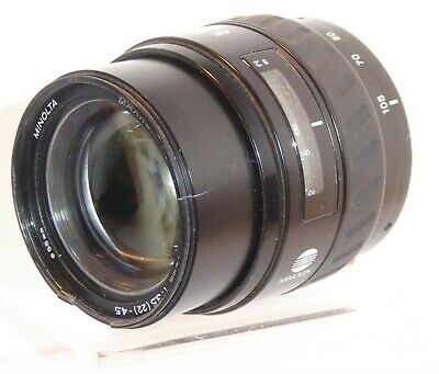 MINOLTA AF 35-105mm ZOOM LENS for DYNAX FILM & SONY DSLRs COSMETIC ISSUE   (CH)