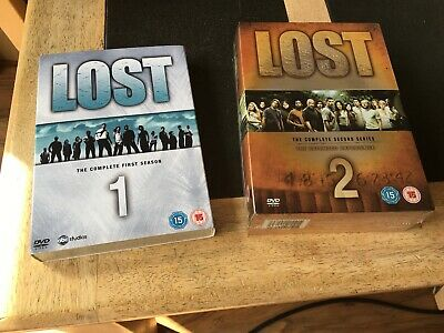 Lost The Complete First & Second Series Season Brand New Factory Sealed DVD