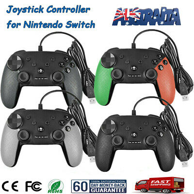 USB Wired Pro Controller Gamepad Joypad Joystick Console For Nintendo Switch PS3