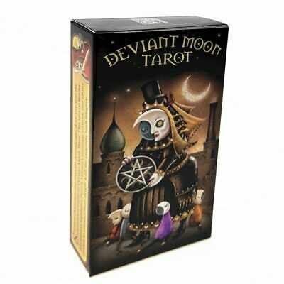 78 Cards English Tarot Cards Deck Playing Card Game Board Game With Colorful Box
