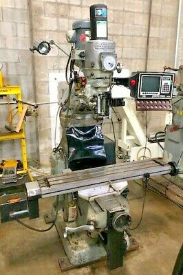 "BRIDGEPORT  CNC VERTICAL MILL 9"" X 48"" , SWI MX-2 Control"