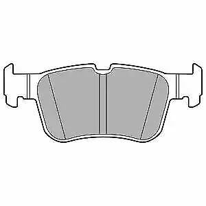 Blue Print ADF124210 Brake Pad Set with additional parts pack of four