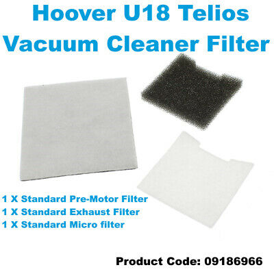 HOOVER TR S3332 050 TR T5605 001 TR T5614 011 Vacuum Cleaner Filter Kit
