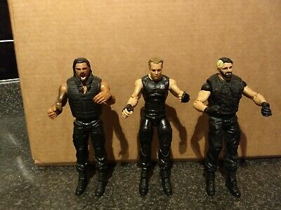 Wwe The Shield Set Of 3 Wrestling Action Figures Reigns & Rollins & Ambrose #1