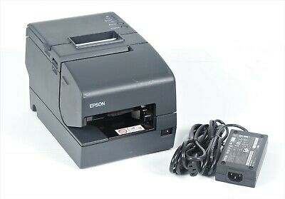 Epson TM-H6000IV POS Thermal USB Network Receipt Printer M253A with Adapter