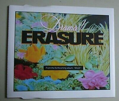 "Erasure Drama Cd Single 3 Track 3"" In 5"" Case Uk"