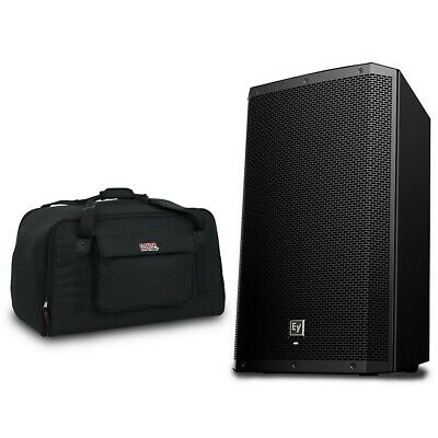 """Electro-Voice ZLX-12BT 1,000W 12"""" Powered Speaker with Tote"""