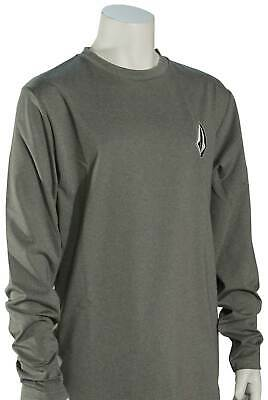 Volcom Boy's Deadly Stones LS Surf Shirt - Grey - New