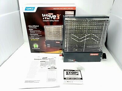 Camco 57331 Olympian Wave 3 3000 Btu Lp Gas Catalytic Heater 312 95 Picclick