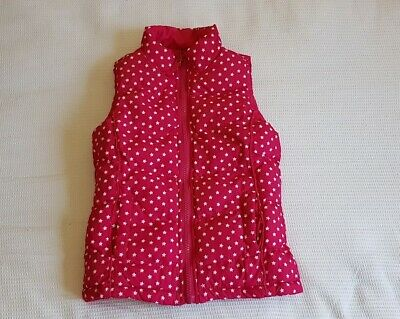 Beautiful Girls Reversible Pink Body Warmer 3yrs