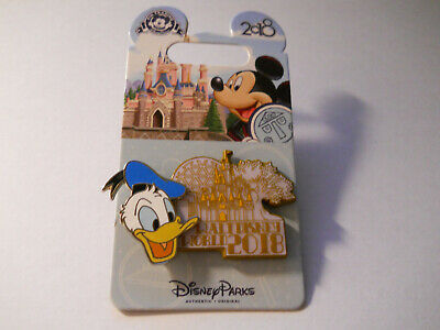 2018 DATED COLLECTION WDW DONALD DUCK DISNEY PIN 126721